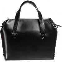 Женская черная кожаная сумка MiroS