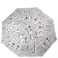 Женский зонт полуавтомат Doppler DOP730165G-white