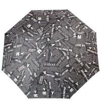Женский зонт полуавтомат Doppler DOP730165G-black