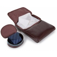 Кожаная сумка-клатч для рубашки и галстука Piquadro AC3855B2_MO