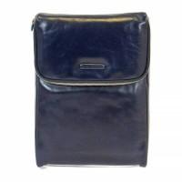 Кожаная сумка-клатч для рубашки и галстука Piquadro AC3855B2_BLU2