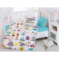 Постельное белье Cotton Box для новорожденных Mutlu Bebek Beyaz