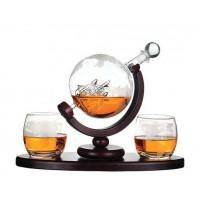 Набор для виски Bosston Вокруг света