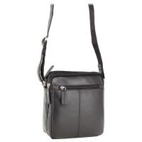 Мужская кожаная сумка Visconti S8 Black