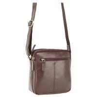 Мужская кожаная сумка Visconti S8 Brown