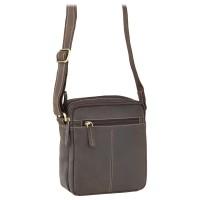 Мужская кожаная сумка Visconti S8 Oil Brown