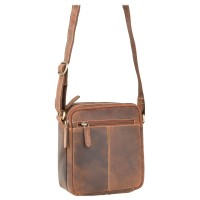 Мужская кожаная сумка Visconti S8 Oil Tan