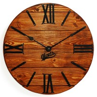 Часы настенные Glozis Nevada Rust