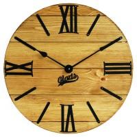 Часы настенные Glozis Nevada Gold