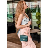 Женская сумка кроссбоди BlankNote Mini зеленая