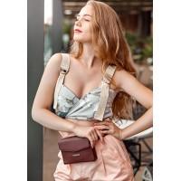 Женская сумка кроссбоди BlankNote Mini бордовая