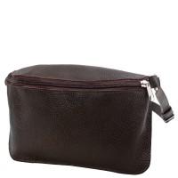 Женская дизайнерская кожаная сумка поясная Gala Gurianoff GG3012-10FL