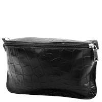 Женская дизайнерская кожаная сумка поясная Gala Gurianoff GG3012-2KR