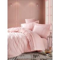 Комплект постельного белья Cotton box ранфорс с вышивкой ELBA PUDRA