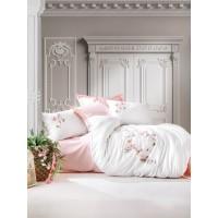 Комплект постельного белья с вышивкой 3D Cotton box LUNA
