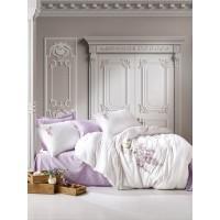 Комплект постельного белья с вышивкой 3D Cotton box MITA