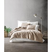 Комплект постельного белья Cotton box Plain VIZON KREM