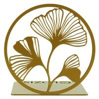 Держатель для книг Glozis Ginkgo Bronze
