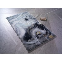 Коврик для ванной Confetti Liquid Gri 57x100