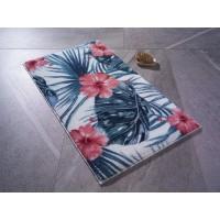 Коврик для ванной Confetti Hibiscus Mercan 57x100