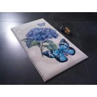 Коврик для ванной Confetti Morpho Lila 57x100