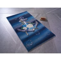 Коврик для ванной Confetti Romantic Anchor K.Mavi 57x100