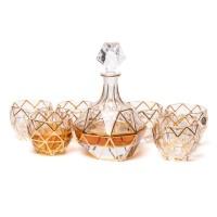 Набор для виски Butterfly Preface 9700005 золотистый