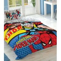 Постельное бельё TAC Disney Marvel Comics подростковое