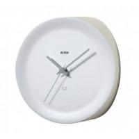Часы для внутреннего угла стены Ora Alessi Белые