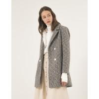 Женское пальто Season Петра светло-серое