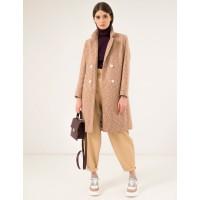 Женское пальто Season Перис бежевое