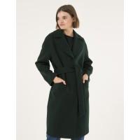 Женское пальто Season Глория темно-зеленого цвета