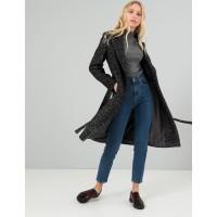 Женское пальто Season Дороти черно-белое букле