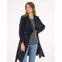 Женское пальто Season Натали-1 темно-синего цвета