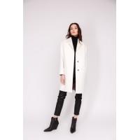 Женское пальто Season Виктория-1 молочного цвета
