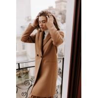 Женское пальто Season Бербери цвета кэмэл