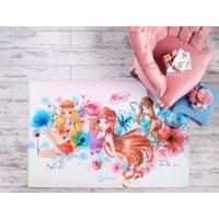 Коврик в детскую Tac Disney Winx Watercolour 120*180 см