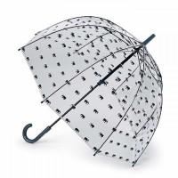 Женский зонт-трость прозрачный Fulton L042 Birdcage-2 Elephant Parade