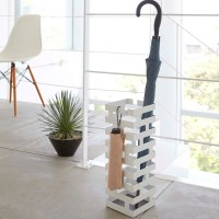 Подставка для зонтов Brick от Yamazaki Белая