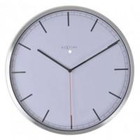 Часы настенные NeXtime Сompany-stripe белые