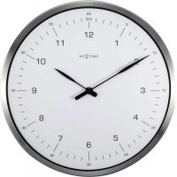 Часы настенные NeXtime 60 Minutes белые