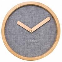Часы настенные NeXtime Calm Grey