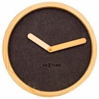 Часы настенные NeXtime Calm Brown