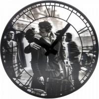 Часы настенные NeXtime Kiss me in Paris