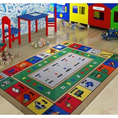 Коврик в детскую комнату Confetti Lesson Mavi 100x150