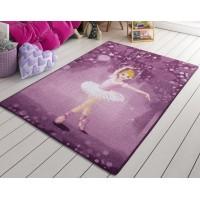 Коврик в детскую комнату Confetti Little Ballerina Pembe 100x150
