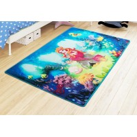 Коврик в детскую комнату Confetti Mermaid Mavi 100x150