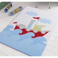 Коврик в детскую комнату Confetti Baby Ship Blue 100x150