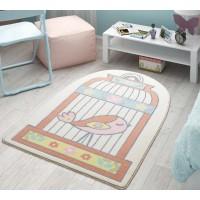 Коврик в детскую комнату Confetti Happy Cage Salmon 100x150