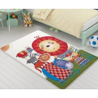 Коврик в детскую комнату Confetti Lion King Orange 100x150